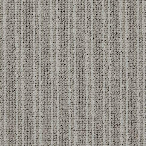 Boucle Neutrals Stripe Sloane Steel